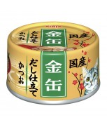 Aixia Kin-can Dashi Skipjack Canned Cat Formula 70g