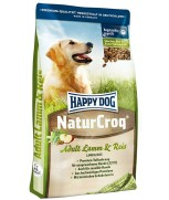 Happy Dog NaturCroq Adult Lamb & Rice Dry Dog Formula 15kg