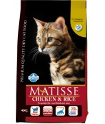 Matisse Chicken & Rice Cat Dry Formula 400g
