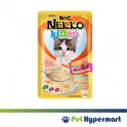 Nekko Pouch Natural Wet Cat Food 70g