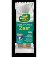 Happi Doggy Dental Chew Zest Milk 4 Inch
