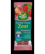 Happi Doggy Dental Chew Zest Strawberry 4 Inch
