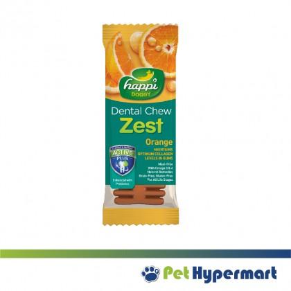 Happi Doggy Dental Chew Zest 4 Inch