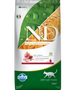 Farmina Natural & Delicious Chicken & Pomegranate Kitten Dry Cat Food Grain Free Formula 10kg