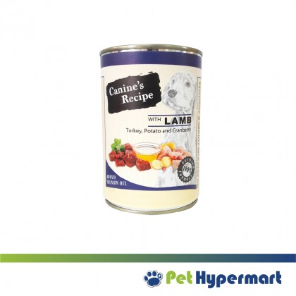 Canine's Recipe Dog Canned Food 400 gm