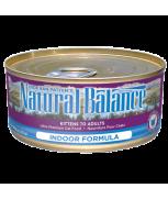 Natural Balance Indoor Canned Cat Formula 5.5oz