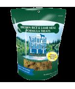 Natural Balance L.I.T. Limited Ingredient Treats® Brown Rice & Lamb Meal Formula 14 oz