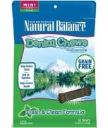 Natural Balance Dental Chews Fresh & Clean Formula