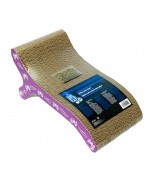 Hagen Catit Style Patterned Cat Scratcher with catnip - Butterfly,Chaise