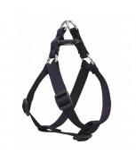 AM Adjustable Dog Harness Navy Blue 10mm x 12 inch - 16 inch