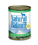 Natural Balance Vegetarian Canned Dog Formula 369 gram