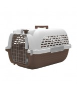 Hagen Dogit Voyageur Dog Carrier - Brown/White - Large - 61.9 cm x 42.6 cm x 36.9 cm