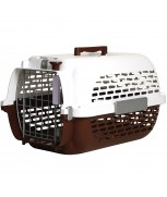 Hagen Dogit Voyageur Dog Carrier - Brown/White, XLarge - 68.4 cm x 47.6 cm x 43.8 cm